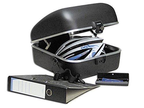 KLICKfix Fahrradtasche CITY BOX 22 L, schwarz, M, 0846K