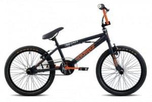 20 Zoll BMX Rooster Go Easy viele Farben + Pegs, Farbe:schwarz/orange