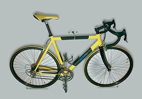 trelixx Fahrrad Wandhalter für Rennrad aus Plexiglas® (gelasert), Design Radhalter Wandmontage