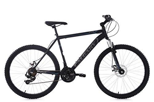 Das Bike ist mit einer 21-Gang-Kettenschaltung mit Drehschaltgriffen ausgestattet. Vorne und hinten sorgen mechanische Scheibenbremsen für die nötige Verzögerung. Der ergonomische Sattel fügt sich optimal ins Gesamtbild ein.
